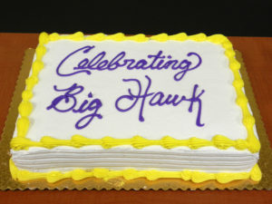 Big HAWKDay, cake