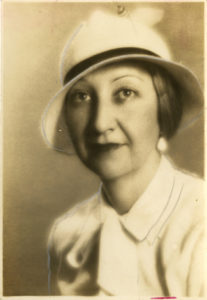 portrait of Joyce Burg, from the Betty Trapp Chapman Papers (undated)