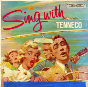 "cover of ""Sing With Tenneco"" vinyl record, undated (Tenneco Energy History Records)"