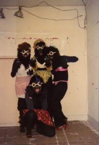 photograph from the Houston Gorilla Girls Records