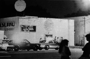 During his internship at the Houston Post the summer of 1980, Desoto particularly enjoyed his assignment taking photographs at The Island, Houston's first punk rock venue.