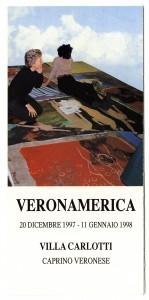 """The Houston Gorilla Girls opened """"Veronamerica""""  in Italy, December 1997. (Houston Gorilla Girls)"""