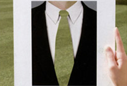 from A Green Tie Affair Invitation, 2005